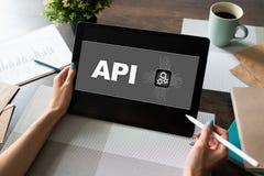 API Application Programming Interface E photographie stock