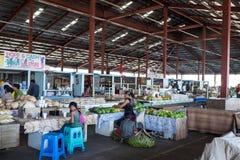Apia, Σαμόα - 27 Οκτωβρίου 2017: Άποψη μέσα στο φρέσκο produc Fugalei Στοκ εικόνες με δικαίωμα ελεύθερης χρήσης