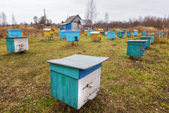 Apiary. Royalty Free Stock Photography