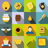 Apiary flat icon Stock Image