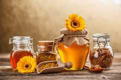 Apiary product Royalty Free Stock Photos