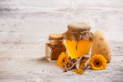 Apiary products Stock Images
