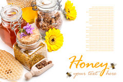 Apiary products Stock Photography