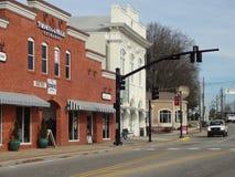 Apice del centro storico, Nord Carolina Immagini Stock Libere da Diritti