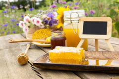 Apiculture products Stock Images