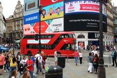 Apilador doble de Londres Fotos de archivo libres de regalías