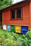 Apitherapy, κυψέλες μελισσών Στοκ φωτογραφία με δικαίωμα ελεύθερης χρήσης
