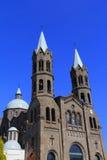 Apizaco大教堂II 库存照片