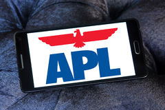 Apl shipping company logo Stock Photos