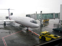 Aplane na chuva Imagens de Stock Royalty Free