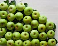 Aple för ny frukt Arkivbild