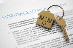 Aplicação de hipoteca Fotos de Stock Royalty Free