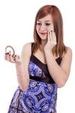 A aplicação do adolescente compo Fotografia de Stock Royalty Free