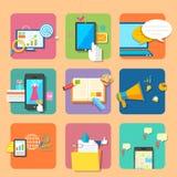 Aplicação móvel Imagens de Stock Royalty Free