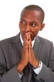 Aplicação - o relógio N Pray fotografia de stock royalty free