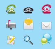 Aplicações e ícones dos serviços Imagem de Stock Royalty Free