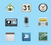 Aplicações e ícones dos serviços