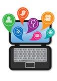Aplicações informáticas Fotos de Stock