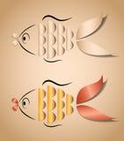 Aplicación de los pescados Imágenes de archivo libres de regalías