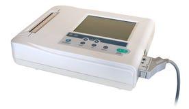 Aplicación médica (EKG/ECG) fotografía de archivo libre de regalías