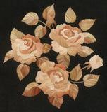 Aplicación: rosas de la paja, un cuadrado Foto de archivo