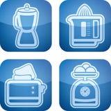 Aplicaciones de cocina Fotos de archivo libres de regalías
