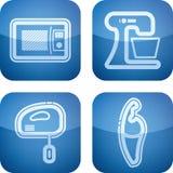 Aplicaciones de cocina Imágenes de archivo libres de regalías