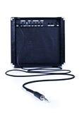 aplifier kablowa gitara Zdjęcia Stock