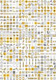 Aplikacj Sieciowych ikony Obrazy Stock