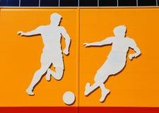 Aplikacja na sporta temacie Zdjęcia Stock