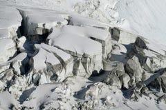 Apline glacier Royalty Free Stock Photography