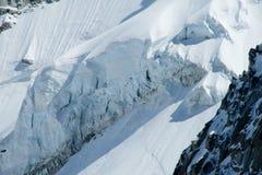Apline glacier Stock Photos