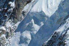 Apline glacier Stock Photo