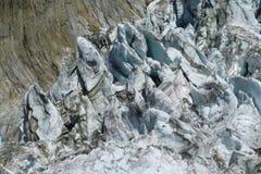 Apline glacier Stock Image