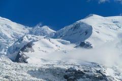 Apline glacier and peak Stock Image