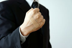 Aplique um punho do emplastro adesivo Foto de Stock Royalty Free
