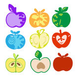 Aplle icons Stock Image
