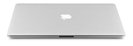 Aplle Macbook pro retina Stock Photo