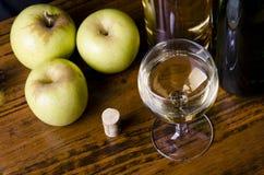 Free Aplple Liqueur Stock Photography - 29596442