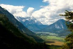 apls κορυφαία όψη βουνών Στοκ Εικόνες