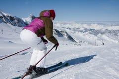 apls προς τα κάτω κάνετε σκι γ Στοκ εικόνα με δικαίωμα ελεύθερης χρήσης