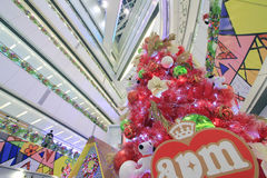 APM christmas Snoopy decoration in Hong Kong Stock Photos