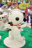 APM christmas Snoopy decoration in Hong Kong Stock Photo