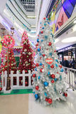 APM Snoopy christmas decoration in Hong Kong Royalty Free Stock Image