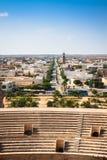 Apmphitheatre romano del EL Jem de Túnez Fotos de archivo libres de regalías