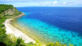 Apo海岛,菲律宾 免版税库存图片
