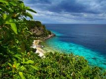 Apo礁石自然公园 库存图片