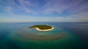 Apo礁石菲律宾 免版税库存图片