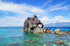 Apo island, Philippines Royalty Free Stock Photography