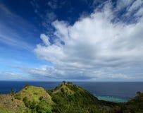 Apo wyspa Zdjęcia Stock